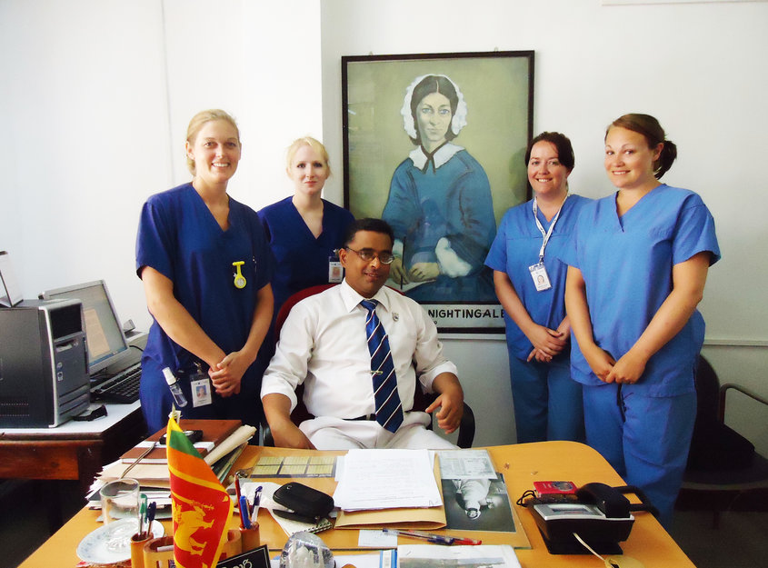 nursing electives in kandy sri lanka