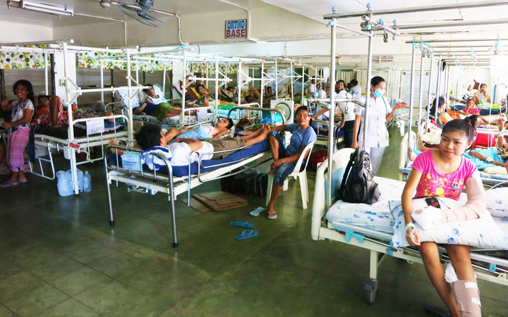 Busy Orthopaedics Department in the referral hospital in Iloilo