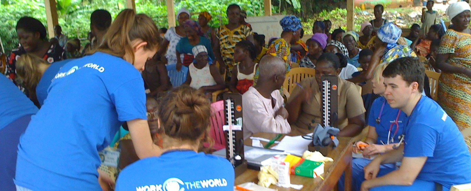 Andrew Moriarty - Medical Electives in Ghana Takoradi