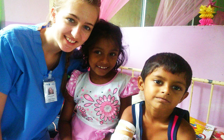 On the Paediatric Ward in Sri Lanka
